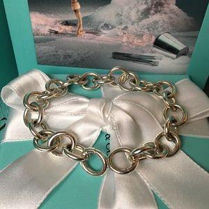 Tiffany Co Large Around Ending Clasping Bracelet